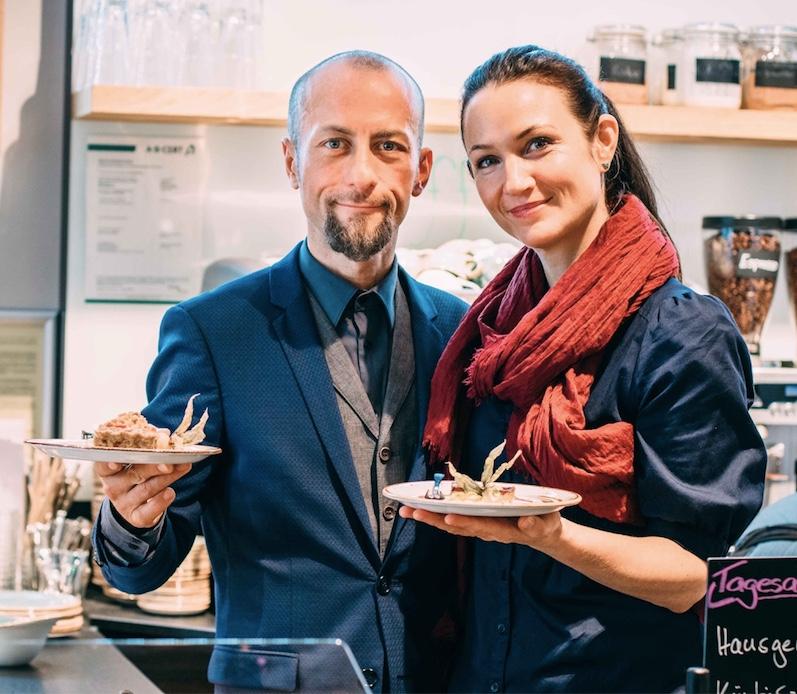 Geschäftsführer des bio vegangen Restaurants in Augsburg Münir Kusanc