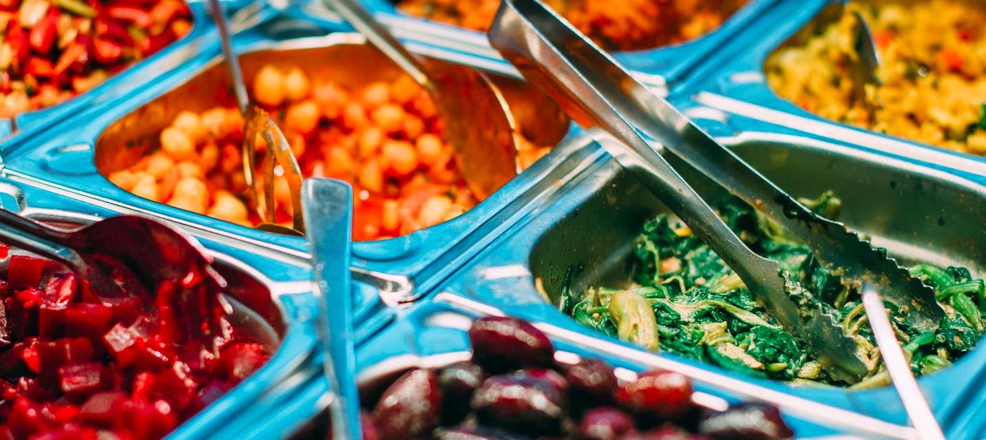 Bio vegan Salat Vorspeisen Restaurant Augsburg