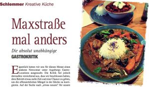 Veganes Restaurant Augsburg Journal
